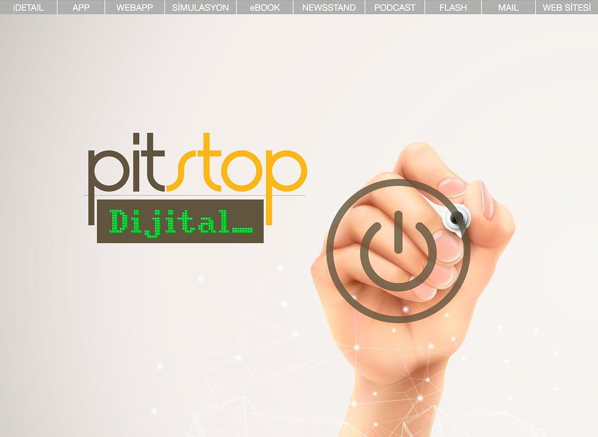 Pitstop dijital açılış