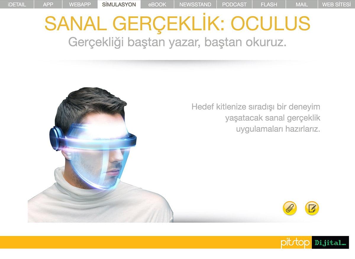 Sanal gerçeklik: oculus