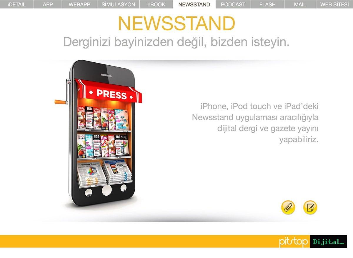 newsstand uygulamaları