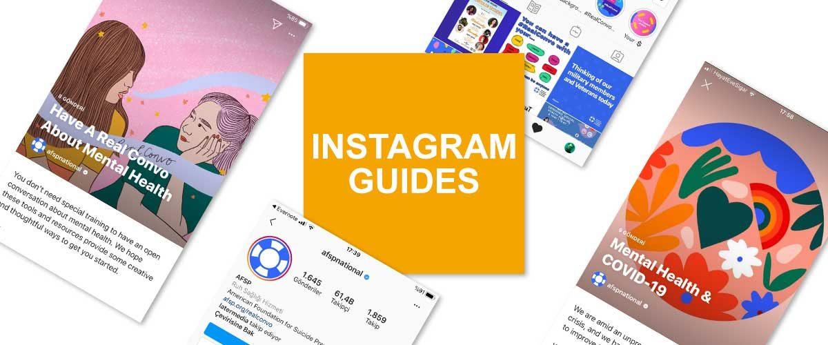 Instagram'ın yeni içerik biçimini: Instagram Guides (Instagram Kılavuzları).